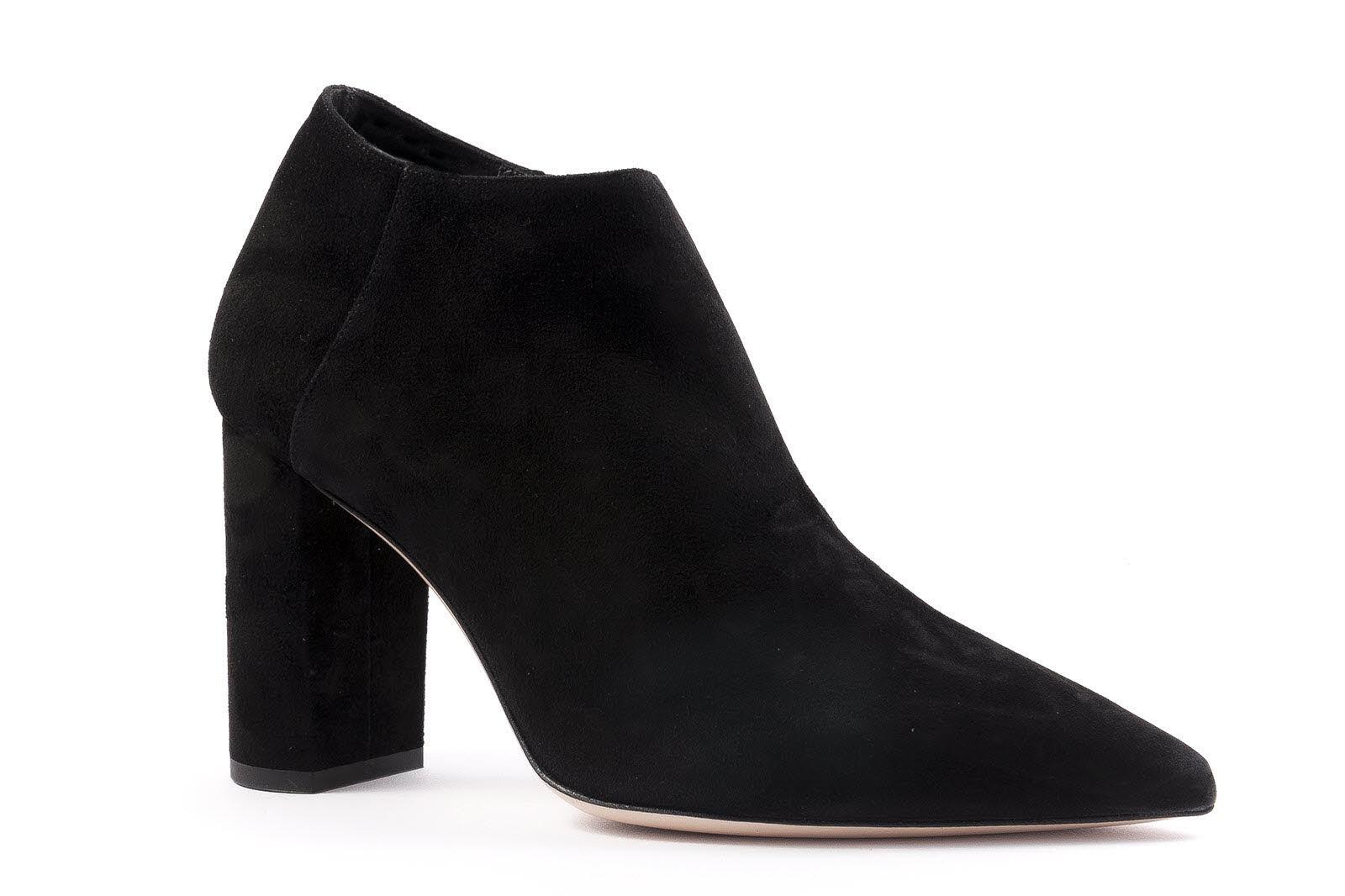 Deimille Ankle Boot Veloursleder schwarz (black) A8LnOt